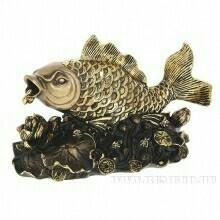 Japon balığı (altın varak) 20 * 9 * 12 cm