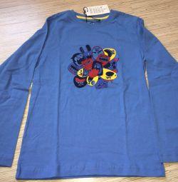 Tricou cu mânecă lungă Sela cu dimensiunea 134