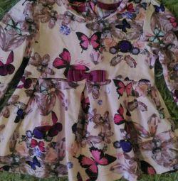Комплект платье с 🌼🌸💜 и леги
