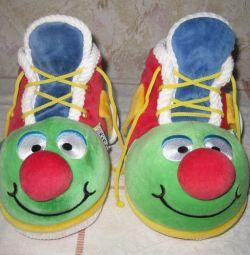 Ботинки/кеды - контейнер для подарка, 2 шт