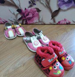 Παπούτσια 20, 21 μεγέθη