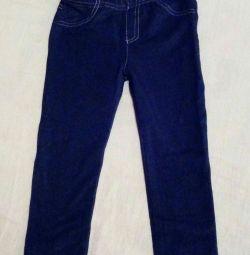 Леггинсы новые на 2 года 92 см как джинсы