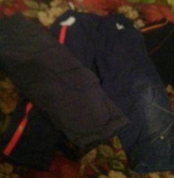 Спортивне трико і демісезонні штани