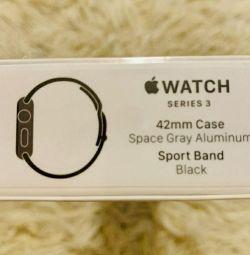 Apple Watch 3 42mm nou, original