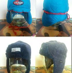 Зимові шапки