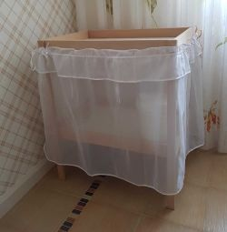 Φούστα 67 × 286cm Comfortbaby για το μεταβαλλόμενο τραπέζι