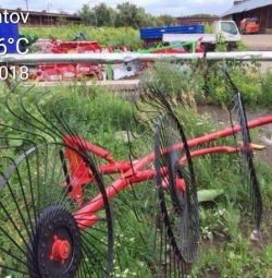 Tedder rake 5-wheel Turkey Art16