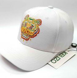 Καπέλο μπέιζμπολ Kenzo (λευκό)