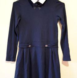 Πλεκτό σχολικό φόρεμα, 128-134 εκ