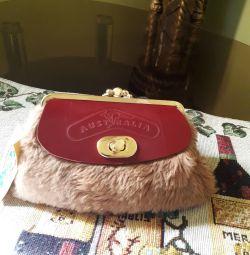 Δερμάτινο πορτοφόλι καγκουρό