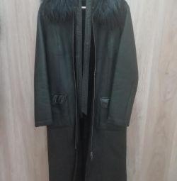 Palton de oaie pentru femei 44