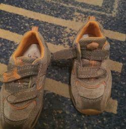 Кроссовки ортопедические замшевые