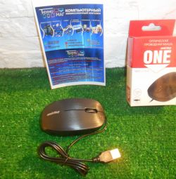 Wired mouse Smartbuy ONE 214-K. (guarantee)