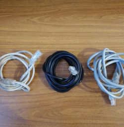 RJ45 patch cord, network cables
