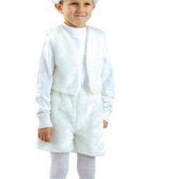 Карнавальный костюм Зайки размер L новый