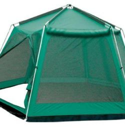 Cort Camping Tent Sol Mosquito verde
