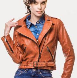 куртка-косуха рыжая (натуралка)