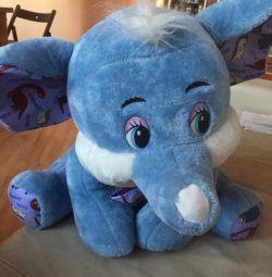 New toy elephant