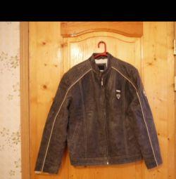Куртка кожаная TOM TAILOR@CO рXL