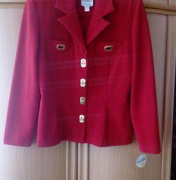 Vindem o nouă jachetă roșie pentru femei