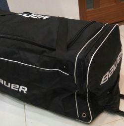 Bauer spor çantası tekerlekli. TESLİM