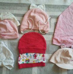 дитячі шапочки