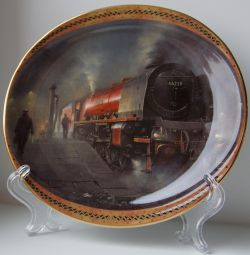 Collectible wall plate Duchess of the Night