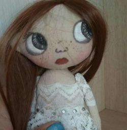 Textile dolls.