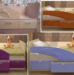 Ліжко Дельфін в наявності нова