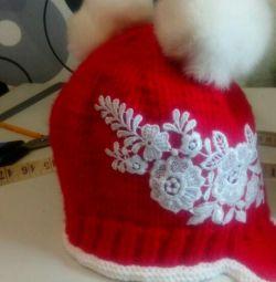Το καπέλο είναι καινούργιο, πολύ ζεστό