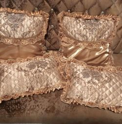 Pillowcases are decorative new 45 * 45 and 45 * 30