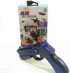 Пистолет виртуальной реальности Ar Blaster Синий
