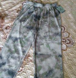 новые камуфляжные штаны ( летние)