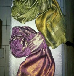 2-scarf. Indonesia. NEW. (Unit price.