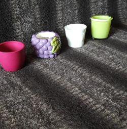 Vase noi de plante