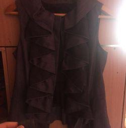 Cloak for clothes, vest.