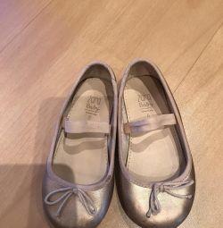 Πολύ όμορφα παπούτσια Μπαλέτο λυγίζει Zara