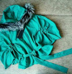 Куртка кожаная.новая.Турция