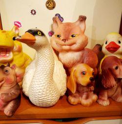 Jucării din PVC (cauciuc)