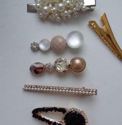 Κοσμήματα φουρκέτα αόρατο