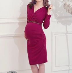 Dress for pregnancy and feeding