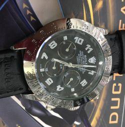 Men's watch mechanics