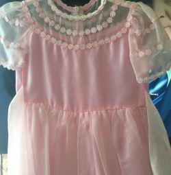 Праздничное платье 110-116