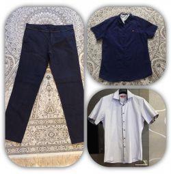 Αντρικά πουκάμισα και παντελόνια ανδρών της Ιταλίας