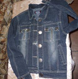 Джинсовая курточка р 42