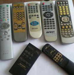 Remote.original.TV, Vidic, DVD, muzică / centru