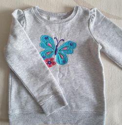 Bluză sărind fasole timp de 3 - 4 ani