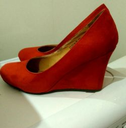 Pantofi 37,5 corali.