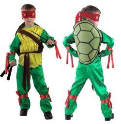 Carnival costume Ninja turtle 104 -140