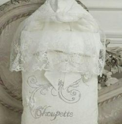 Envelope choupette + hat for discharge